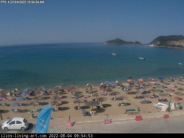 San George North West Corfu Webcam