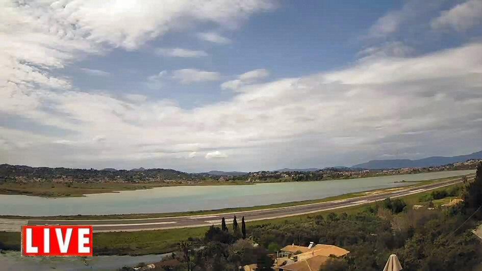 Corfu Airport Webcam